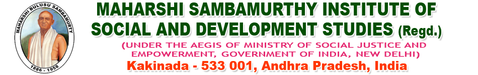 Maharshi Sambamurthy Institute of Social and Development Studies